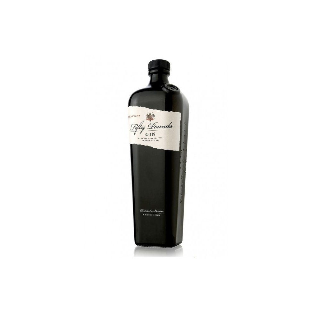 London Dry Gin  Fifty Pounds  cl 70 VINOpoint.it