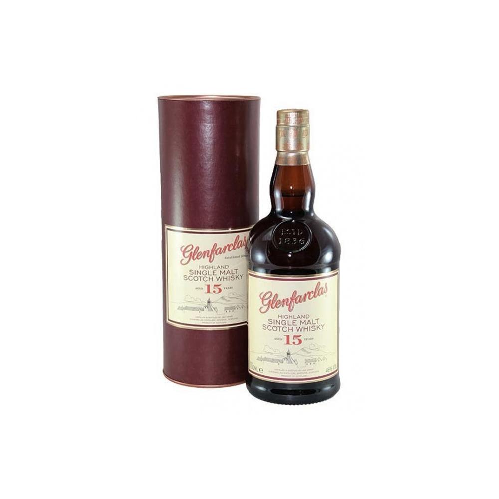 Scotch Whisky Single Highland Malt 15 Y.O. Glenfarclas  Cl 70 VINOpoint.it