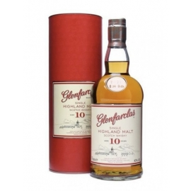 Scotch Whisky Single Highland Malt 10 Y.O. Glenfarclas  Cl 70 VINOpoint.it