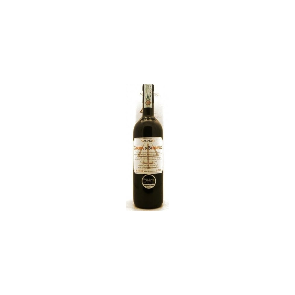 Grappa Di Brunello Bianca  Nannoni  cl 70 VINOpoint.it