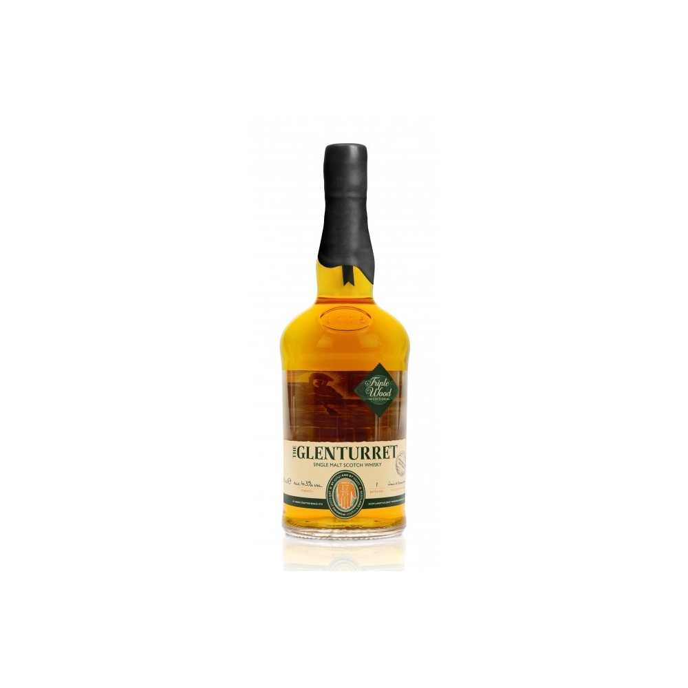 Scotch Whisky Single Malt  Triple Wood The Glenturret  cl 70 VINOpoint.it