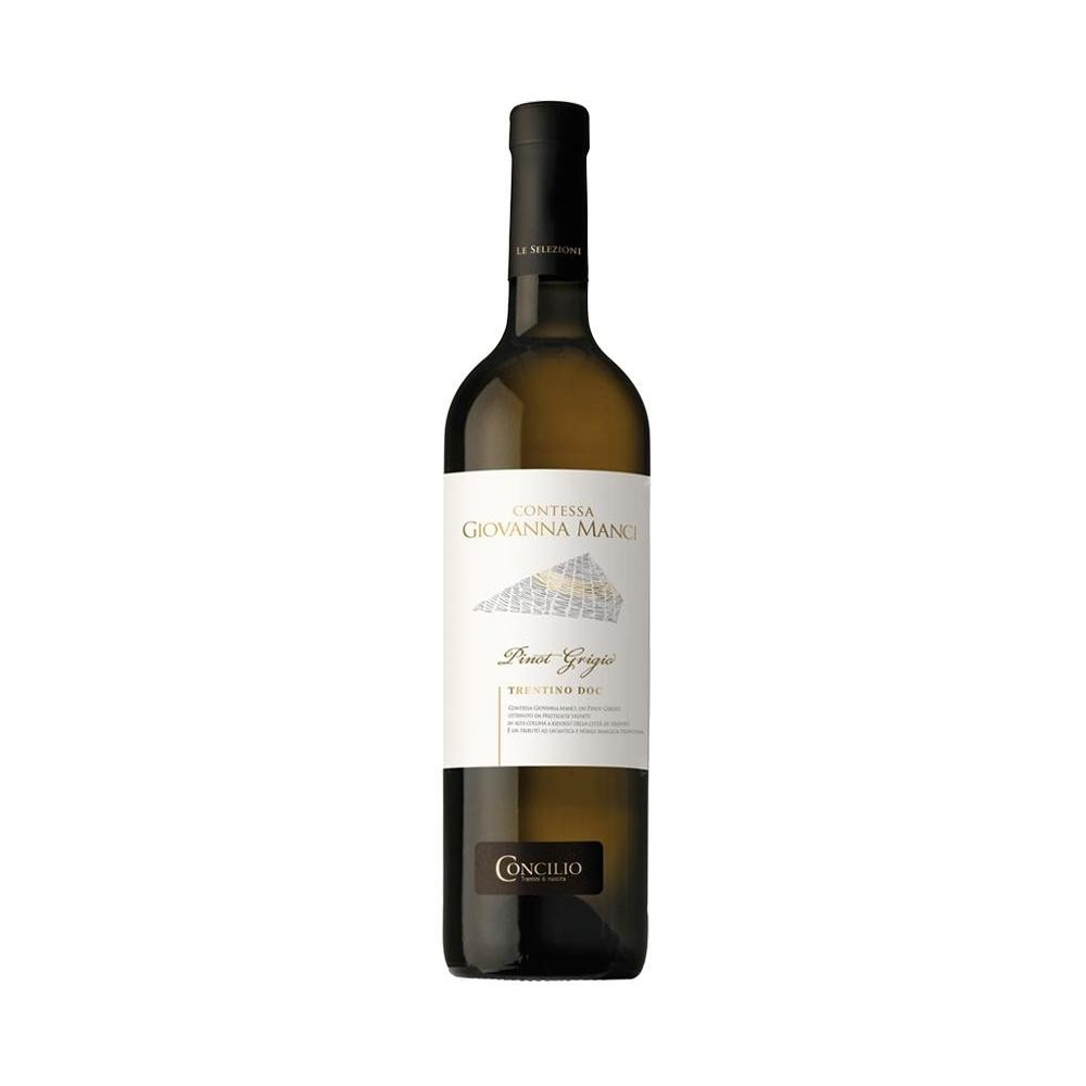 Pinot Grigio Contessa Giovanna Manci 2016 Concilio cl 75 VINOpoint.it