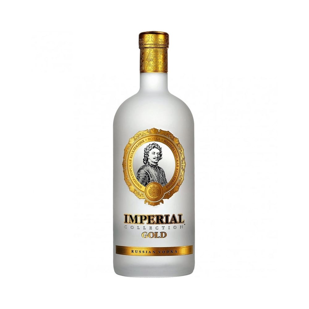 Russian Vodka Gold Super Premium Imperial cl 70 VINOpoint.it