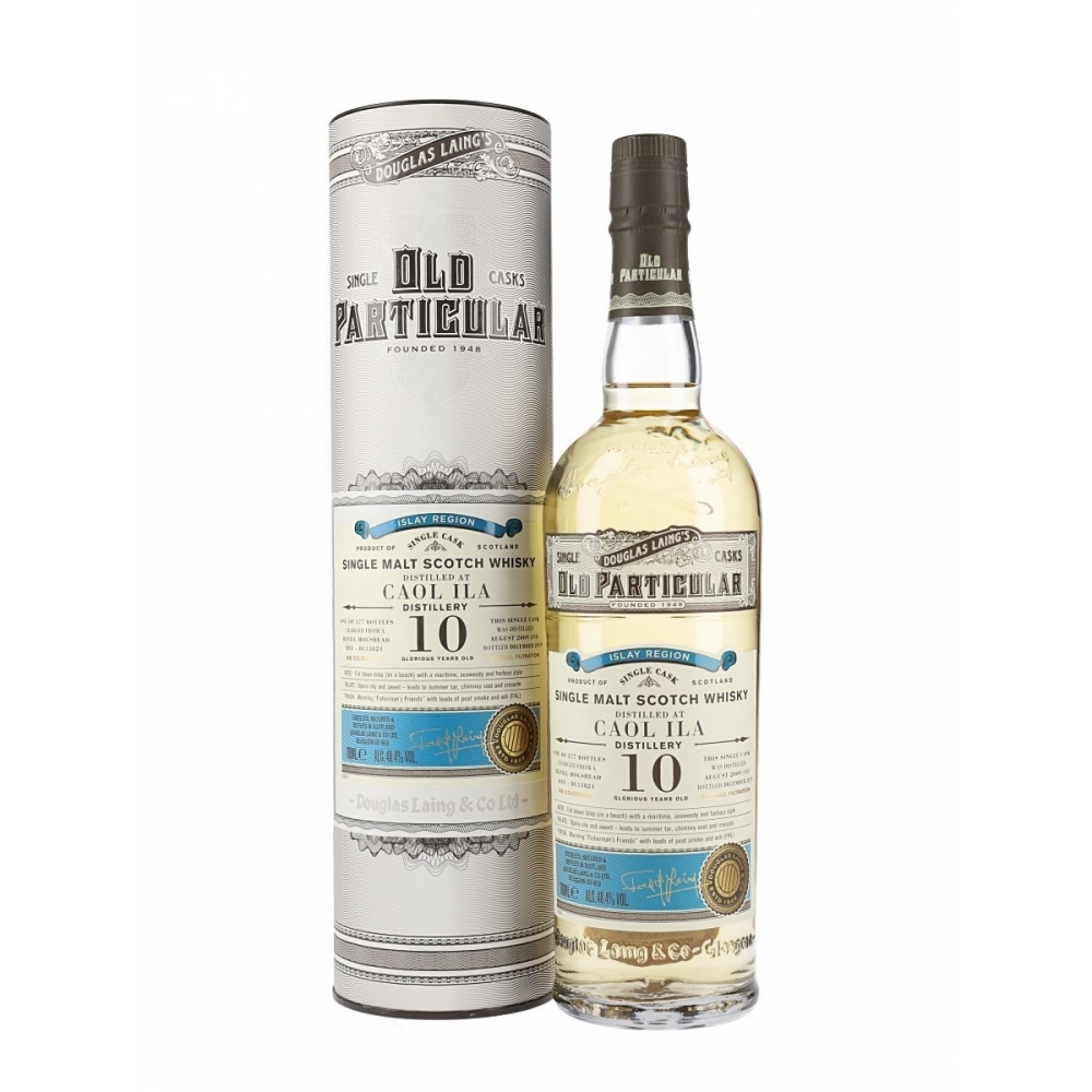 Scotch Whisky Single Malt Caol Ila 10 Anni Old Particular Douglas Laing's - VINOpoint