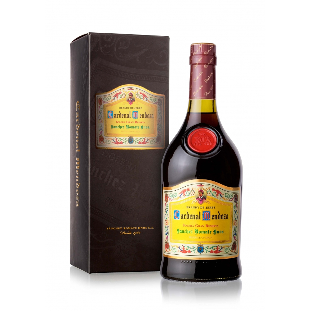 Brandy De Jerez Solera Gran Reserva Cardenal Mendoza cl 70 VINOpoint