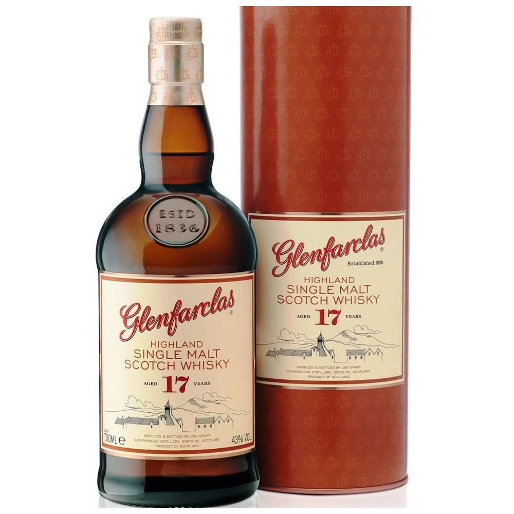 Scotch Whisky Single Highland Malt 17 Y.O. Glenfarclas  Cl 70 VINOpoint.it
