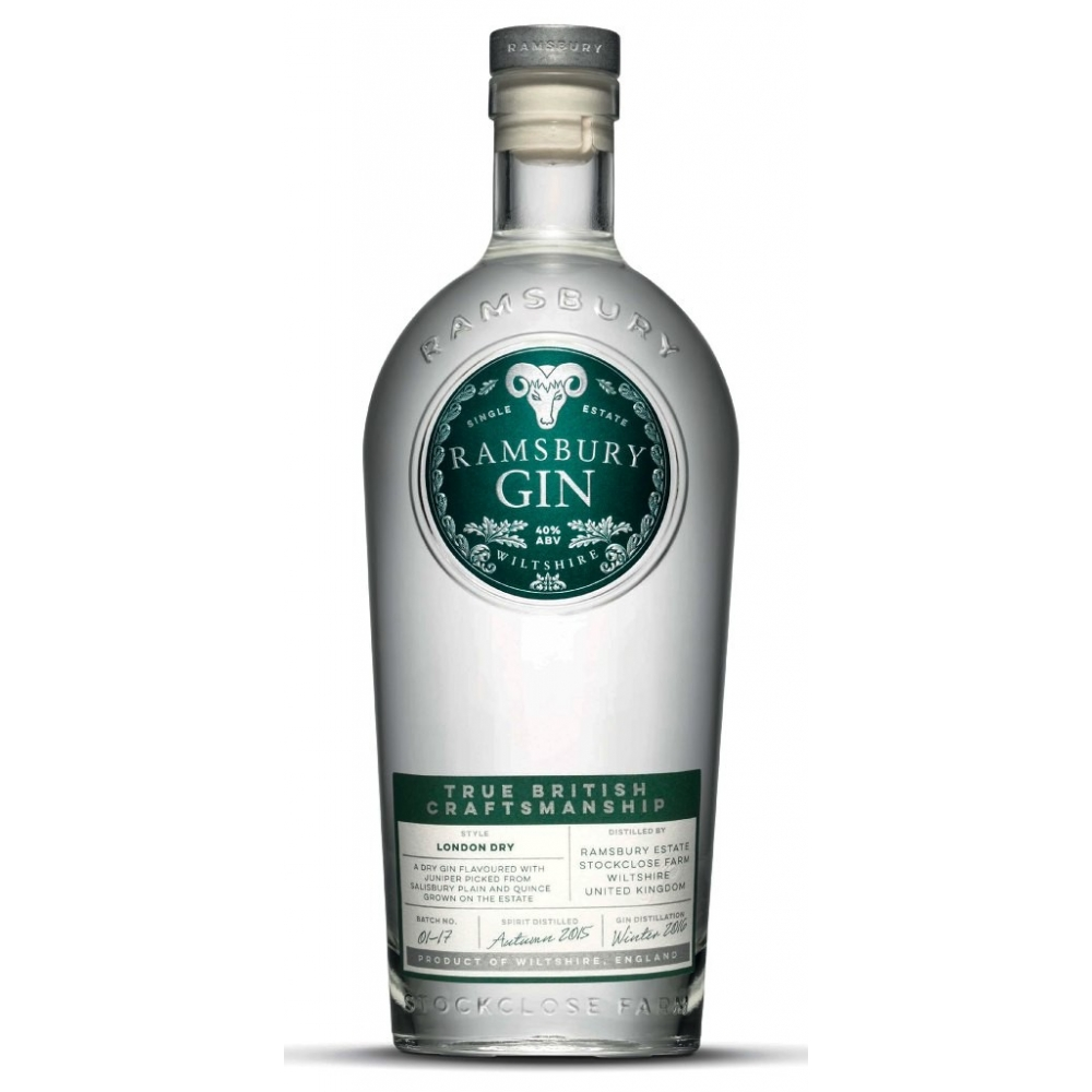 Ramsbury London Dry Gin cl 70 VINOpoint.it