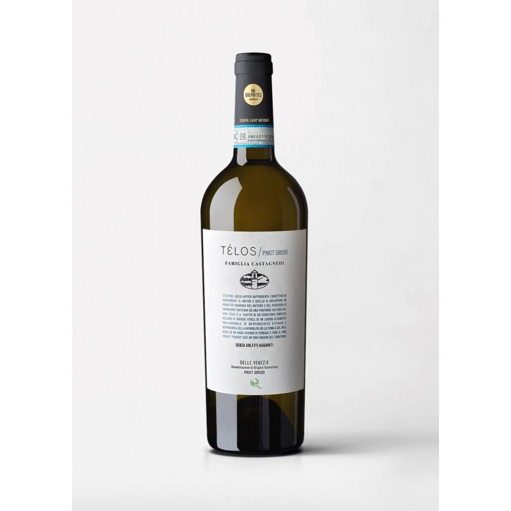 Télos Pinot Grigio Tenuta Sant'Antonio 2018 cl 75 VINOpoint.it