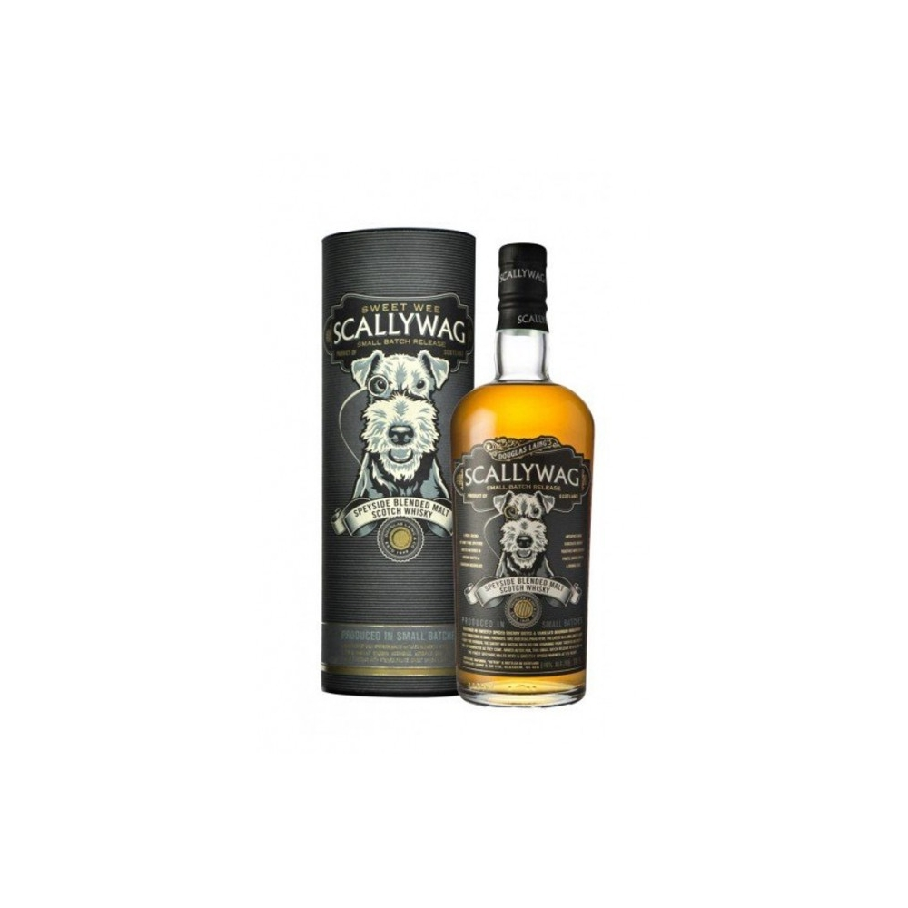 Scotch Whisky Speyside Blended Malt Scallywag Douglas Laing cl 70 VINOpoint.it