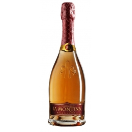 Franciacorta Rosé Extra Brut La Montina cl 75 VINOpoint.it