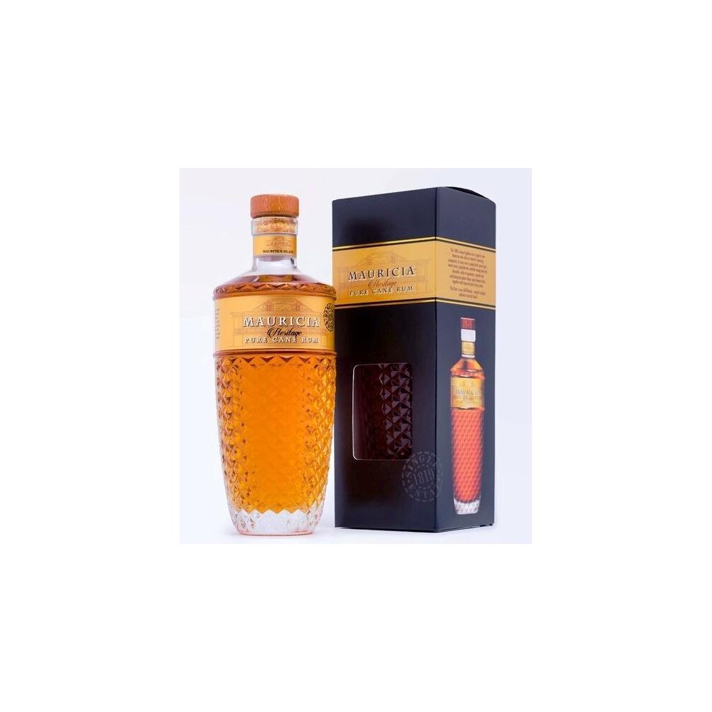 Rum Mauricia Pure Cane Eritage Mauritius cl 70 VINOpoint.it
